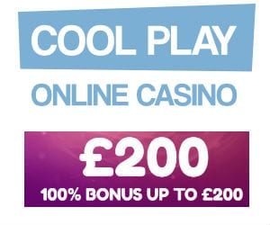 Get 100% Welcome Bonus Up To £200 Only With CoolPlay Casino