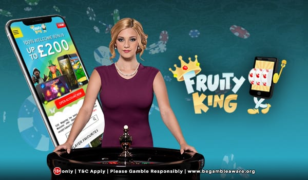 Feel Like You're in Vegas With Fruity King Casino Live Dealers