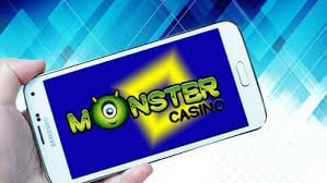Mobile Phone Online Gambling at Monster Casino