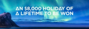 Win Your Holiday of a Lifetime - Only from 21 Casino