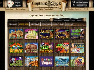 Take Your Slot Pick at Captain Jack Casino Online