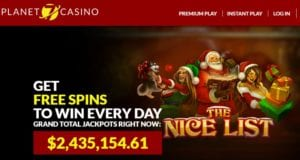 Daily Bonnus Codes At Planet 7 Casino