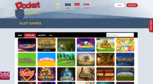 Exciting Slot Games Available at Pocket Fortune Casino