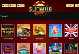 Choose Between Live Games, Slots Games, Roulette and Many More