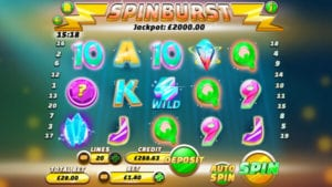 SpinBurst is a Very Well Created and Engaging Slot Game!