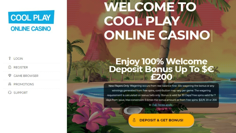 Welcome Bonus Offers at Cool Play Casino