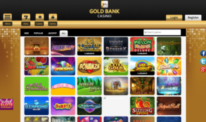 A Large Variety of Slots Games to Choose From at Gold Bank Casino