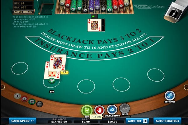 A Smooth Running Online BlackJack Game
