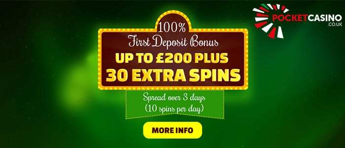 Great Promotions with Pocket Casino Offers