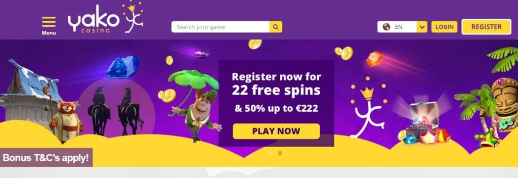 Yako Casino Online Trusted Gambling Platform
