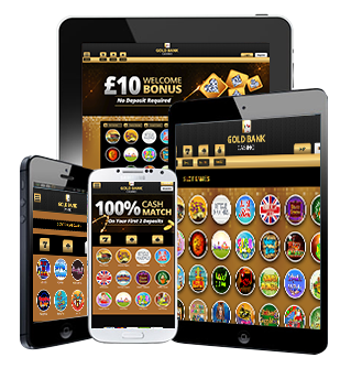 Mobile Gambling at Gold Bank Casino