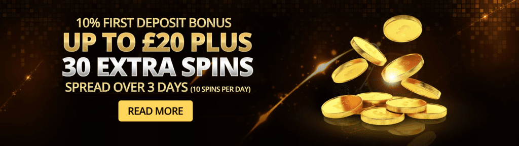 Welcome Bonus Packages 30 Extra Spins