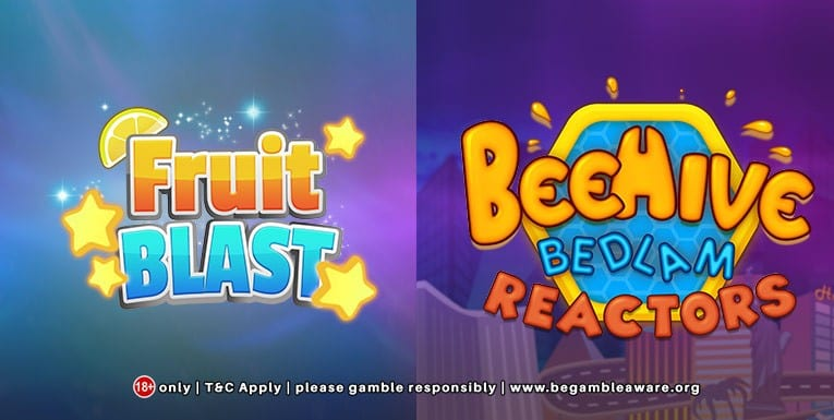 A Massive Variety of Games to Play Including Fruit Blast and BeeHive!