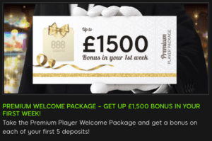 Practice Your Blackjack Strategy with 888 Casino Welcome Bonus