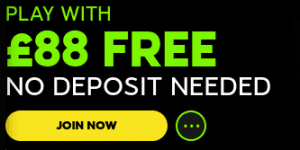 Play with £88 FREE Now