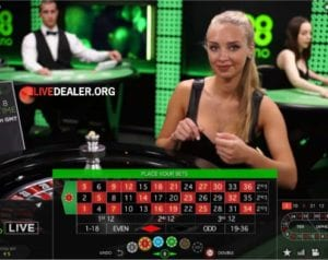 Live Roulette Dealers 24/7 at 888 Online Casino