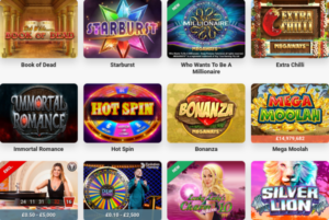 Massive Choice of Slots Plus LIVE Casino