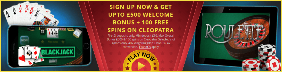 Get up to £500 Welcome Package at Northern Lights Online Casino Today!
