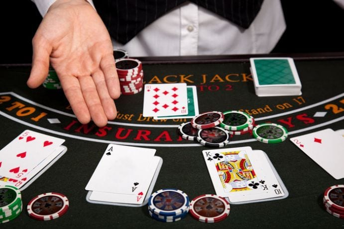 Online Blackjack at Mobizino Casino