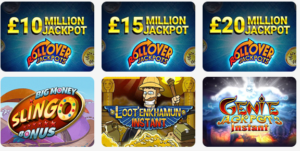 Great Games and Massive Jackpots Up for Grabs