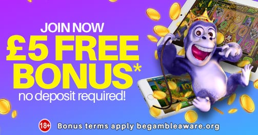 Get Your £5 at Monster Casino Today
