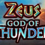 From a Leading Game Developer Come Zeus God of Thunder Slot