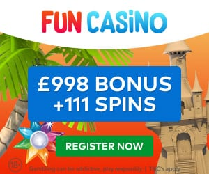 111 Free Spins at Fun Casino
