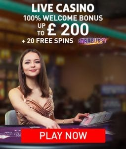 Claim Your 100% Welcome Bonus of Up To £200 and Receive 20 Bonus Spins