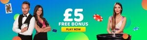 21 3 Blackjack at Monster Casino With £5 Bonus Just Sign Up