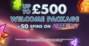 Plush Casino Have an Excellent Welcome Page on Offer