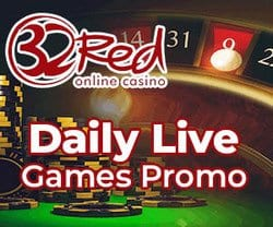 All New Promos at 32Red Casino - LIVE!