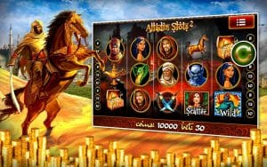 Aladdin Slots Casino Online and Mobile Slots Games