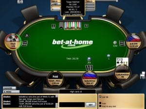 Bet at Home Casino Online Poker Tables UK