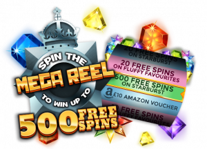 Spin the Reel with 500 Bonus Spins