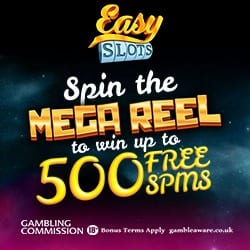 Take a Spin on The Mega Reel With Every £20 You Deposit