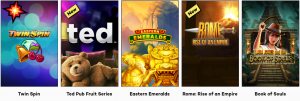 An Impressive Range of High Quality Games Available to Play