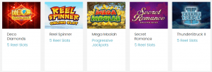Offering a Great Game Collection Spin Casino is the Place for Slots