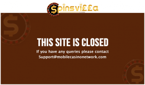 Spinsvilla Casino Has Closed For All Players
