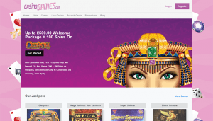 100 Spins on Cleopatra and up to £500 Welcome Bonus
