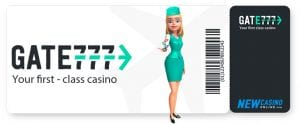 Your First Class Casino at Gate 777 Casino