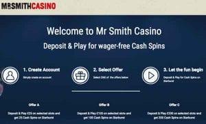 Wager Free Cash Spins Online at Mr Spin Casino Welcome Offer