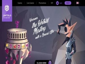 Go On a Mystical Journey with Untold Casino Welcome Bonus Offer