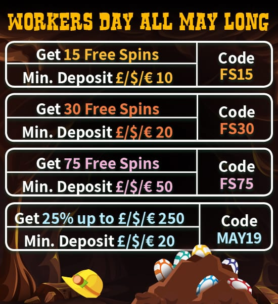 Workers Day All Day Long Bonus Information
